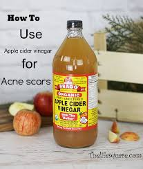 Why And How To Use by Why And How To Use Apple Cider Vinegar To Cure Acne Scars
