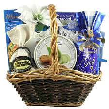 hanukkah gift baskets celebration kosher hanukkah gift basket medium
