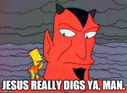Bart Simpson Meme - bart simpson and the devil memes imgflip
