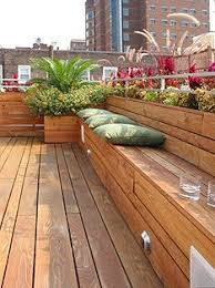 Wood Bench Designs Decks by 15 Modern Deck Design Photos Patios Decking And Modern Deck