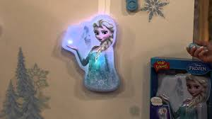 Disney Frozen Bedroom by Disney U0027s Frozen Interactive Light Up Wall Friend With Sound With