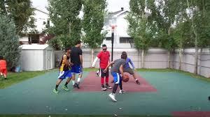 calgary backyard basketball game 5 10 17 16 youtube