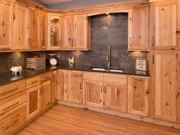 what paint color goes best with hickory cabinets for the ultimate rustic kitchen look no further than