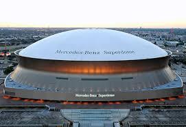 mercedes dome orleans mercedes superdome aerial orleans saints nfl