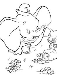 kids dumbo free printable cartoon coloring pages cartoon