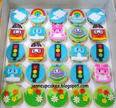 bob the builder cupcake toppers jenn cupcakes muffins transformers jenn cupcakes muffins robocar poli cupcakes