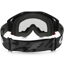 oakley new mx airbrake high oakley airbrake mx jet black speed goggles with clear lens