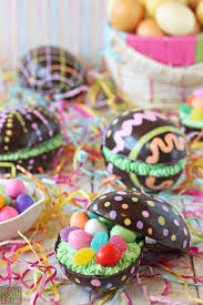filled easter eggs brownie filled chocolate easter eggs oh nuts