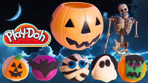 halloween ghost pumpkin halloween play doh cupcakes diy ghost pumpkin witch mummy how to