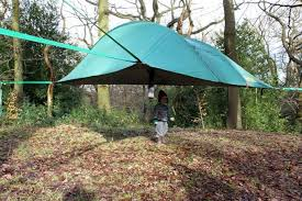 tree suspended tents tent hammock hovering seemly tree suspended tents