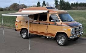 Van Rear Door Awning Ready To Play 1989 Chevrolet Falcon 4x4 Van