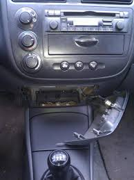 2002 honda civic radio how to remove the stock radio and install on 2002 honda civic