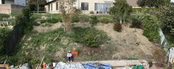 Steep Sloped Backyard Ideas Backyard Hillside Landscaping Ideas On A Slope Magielinfo