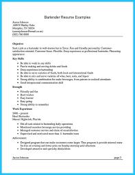 Barista Job Description Resume Samples by Bartender Resume Format Bartending Resume Examples 10 Bartender