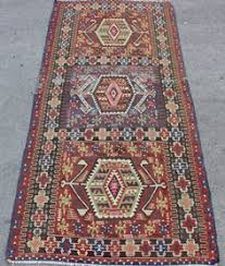 Oversize Rug Faded Colors Rug Kilim Faded Red Green Blue Color Kilim Rug