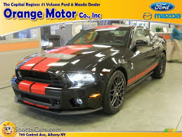 Ford Mustang 2014 Black 2014 Ford Mustang Shelby Gt500 Svt Performance Package Coupe In