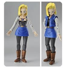 z android 18 z android 18 figure rise standard model kit bandai