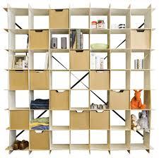 49 cube storage bookcase white modern bookcases sprout cube