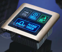 wireless doorbell system with light indicator economical smart touch doorbell system with room status indicator