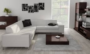 Modern Corner Sofa Bed by Corner Sofa With A Glass Or Wooden Shelf