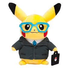 pikachu puts on a suit hopes hiring managers will choose him as a