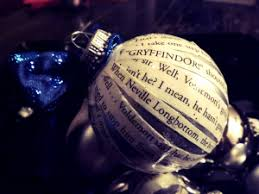 Christmas Book Ornaments - diy christmas book ornament ravenclaw diy christmas and harry