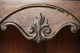 Wood Carving Free Download by Leaf Scroll Carved Wooden Decoration On Antique Radio Cabinet