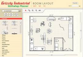 Wood Shop Floor Plans Start Planning Your Workshop Now The Grizzly Workshop Planner Is