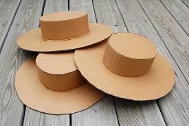 Como Hacer Un Sombrero De Carton   como hacer un sombrero
