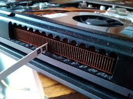 how to clean laptop fan don t surf in the cleaning a laptop fan and heat sink