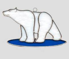 62 best stained glass bears images on glass animals