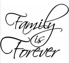 family is forever vinyl lettering wall art saying home de https