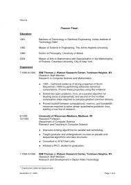Physical Education Resume Examples by Resume Templates Education