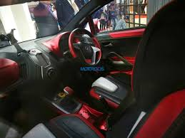 nissan cube interior tata tamo c cube concept interior photographed indian autos blog