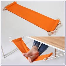 desk foot rest adjustable desk foot hammock feet rest pedal for