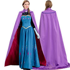 Princess Anna Halloween Costume Cheap Halloween Costumes Women Princess Long