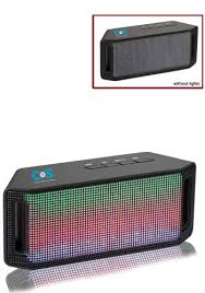 light up bluetooth speaker custom lumi light up bluetooth speakers le719967 discountmugs