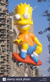 bart balloon in macy s thanksgiving day parade new york city
