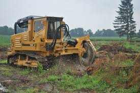 rental equipment stump cutters forestry machines track carriers