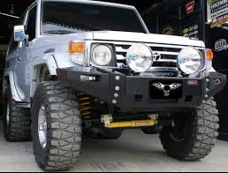 toyota land cruiser bumper vpr 4x4 toyota land cruiser 70 series 85 07 ultima bumper for he