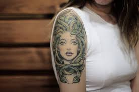 60 graceful medusa tattoos on shoulder