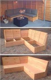 Diy Outdoor Storage Bench Seat by Diy Pallet Outdoor Sectional Sofa Devine Paint Center Blog