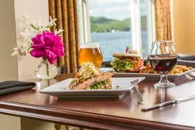 dining at lake morey resort