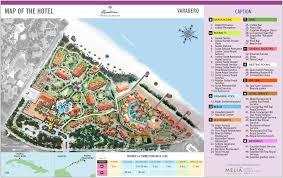 Cuban Map Paradisus Princesa Del Mar U2013 Varadero Transat