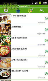 application android cuisine soup recipes for android free at apk here store apkhere mobi