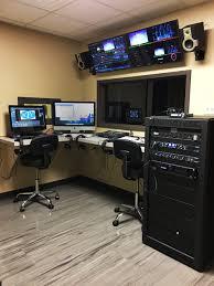 Studio Production Desk by Northeast Technology Center Pryor Campus Tv Production Studio
