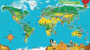 world map leapreader interactive world map educational leapfrog