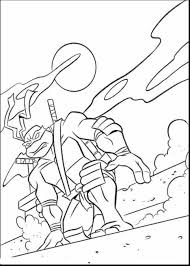 astonishing ninja turtles head coloring pages with ninja turtle