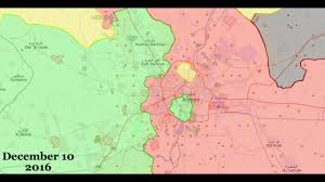 Aleppo Syria Map by Timeline Battle Of Aleppo Map Youtube