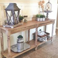 Wood Console Table 34 Stylish Console Tables For Your Entryway Digsdigs
